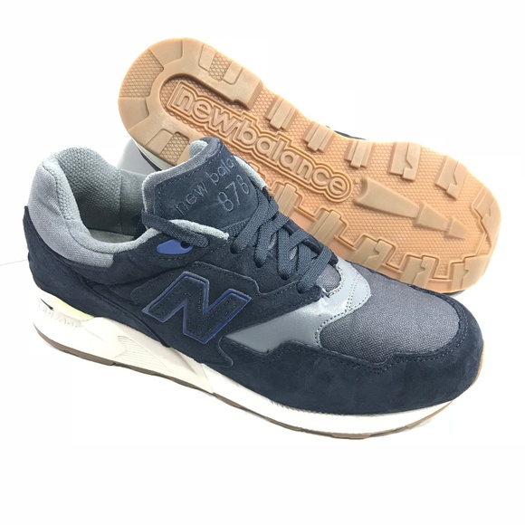 New Balance Mens 878 Running Shoes Navy 8 Y0307 41ee9c25f4